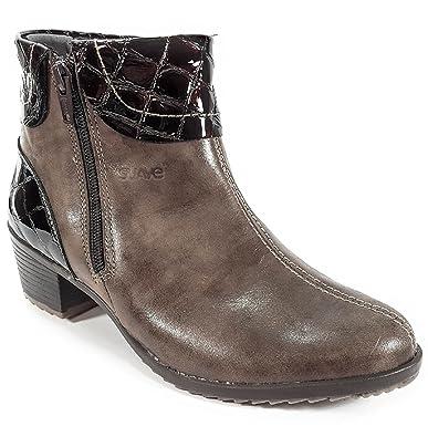df40547da0386d Suave - 9902hc - Bottes Et Boots - Femme - Semelle Amovible : Oui - Marron  - Taille 39 EU: Amazon.fr: Chaussures et Sacs
