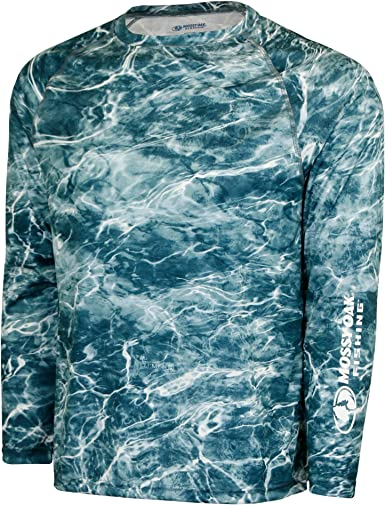 Quick Dry with UPF Sun Protection Mossy Oak Fishing Shirts for Men