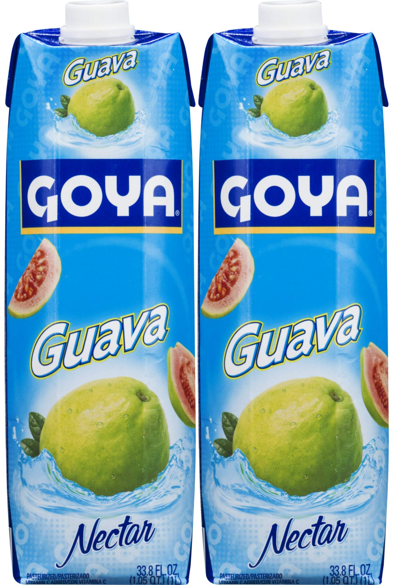 Goya Guava Nectar 33.8oz (Pack of 02)