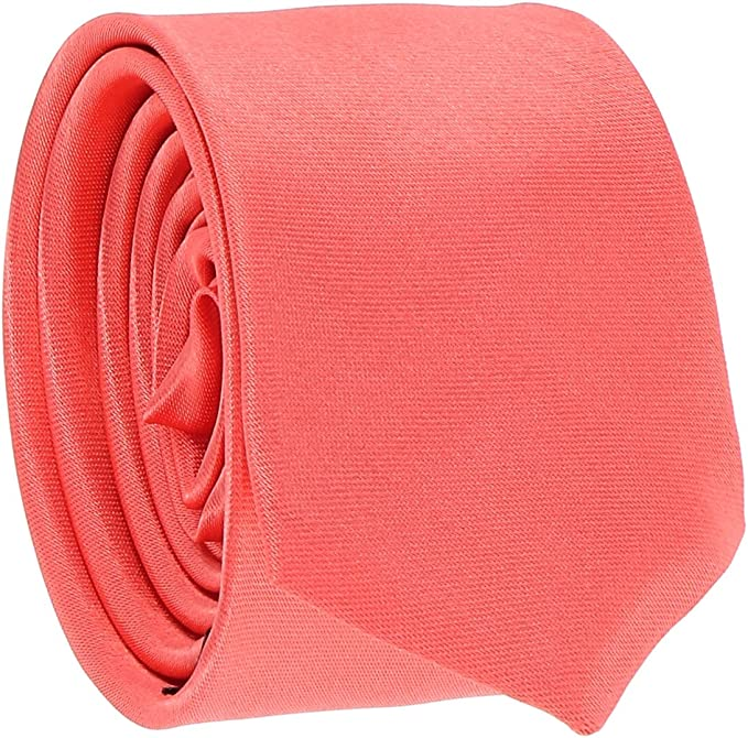 cravateSlim Corbata Estrecha Coral: Amazon.es: Ropa y accesorios