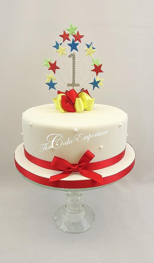 The Cake Emporium Ltd Mr Tumble Star Burst - Decoración para ...