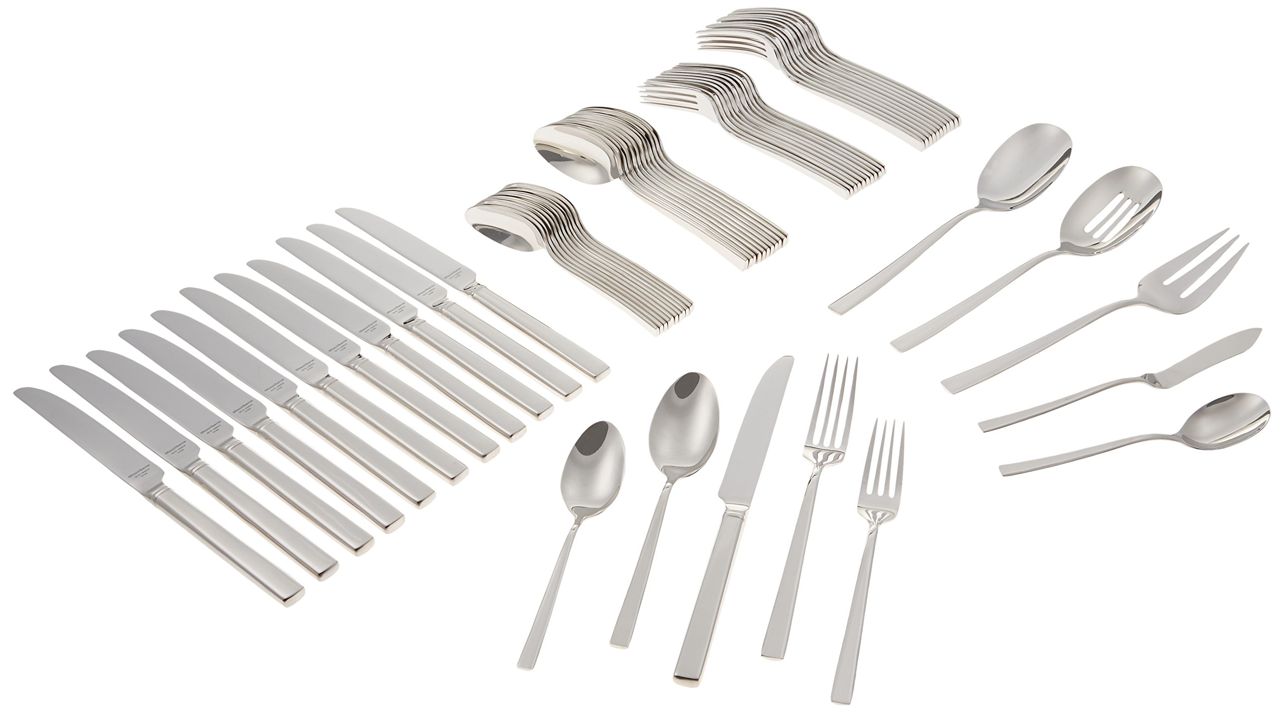Reed & Barton Cole 18/10 Stainless Steel 65-Piece Set