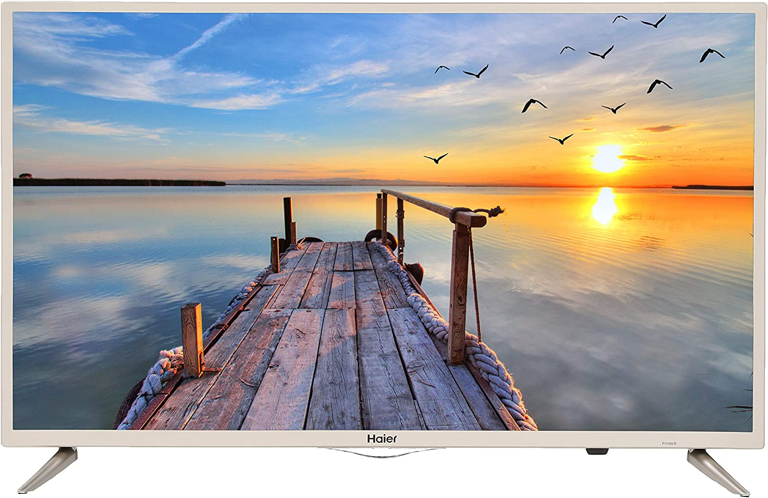 Haier 80 cm (32 inches) HD Ready LED Smart TV LE32K6500AG (Gold)