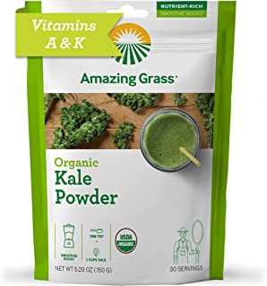 product image for Amazing Grass Kale Greens Booster: Greens Powder, Smoothie Booster with Vitamin A & Vitamin K, 30 Servings