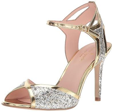 86be6ee6e1c Amazon.com  Kate Spade New York Women s Oak Heeled Sandal  Shoes