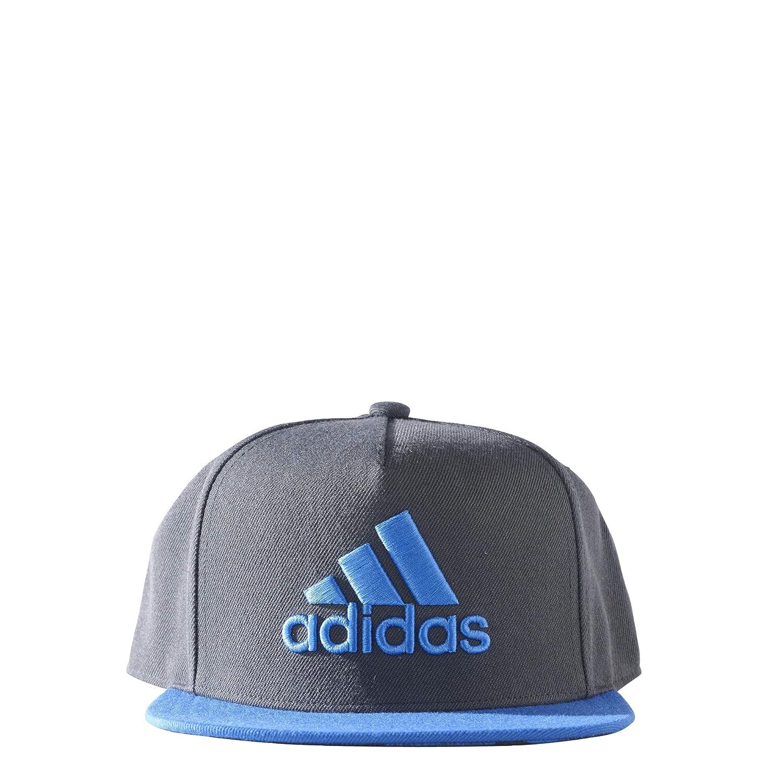 adidas X Flat Gorra de Tenis, Hombre, Gris (Griosc/Azul/Maruni), L ...