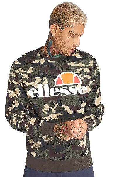 eabbf11921 Ellesse Men's Succiso Sweatshirt, Green, X-Large: Amazon.ca ...