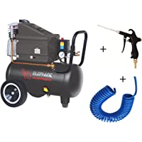 Elephant Combo of Painter Air Blow Gun ABG-04 and Elephant Air Compressor AC 30 C with PU Pipe & Fittings.