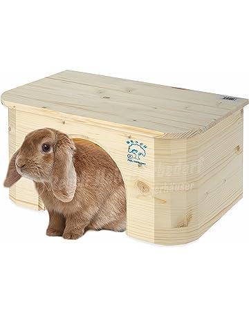 Resch N.º 16 Cabaña para conejo / Madera maciza de picea sin tratar /