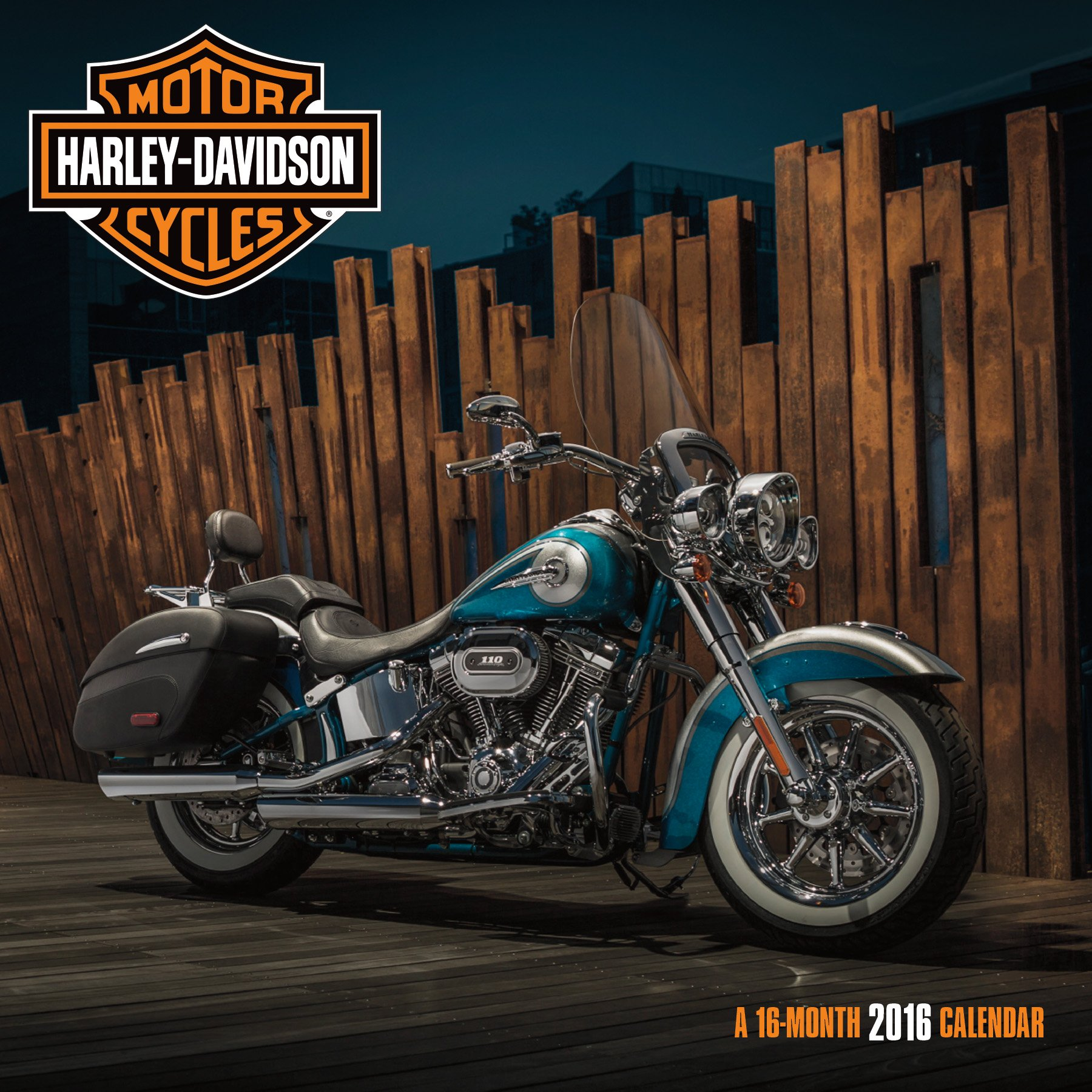 harley davidson 2016 wall calendar trends international 9781438840727 amazoncom books
