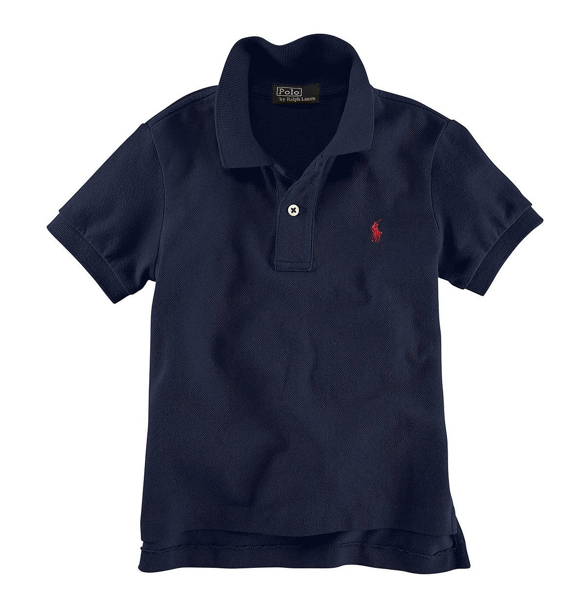 Ralph Lauren Big Boys Classic Short Sleeve Polo Shirt 18/20 French Navy