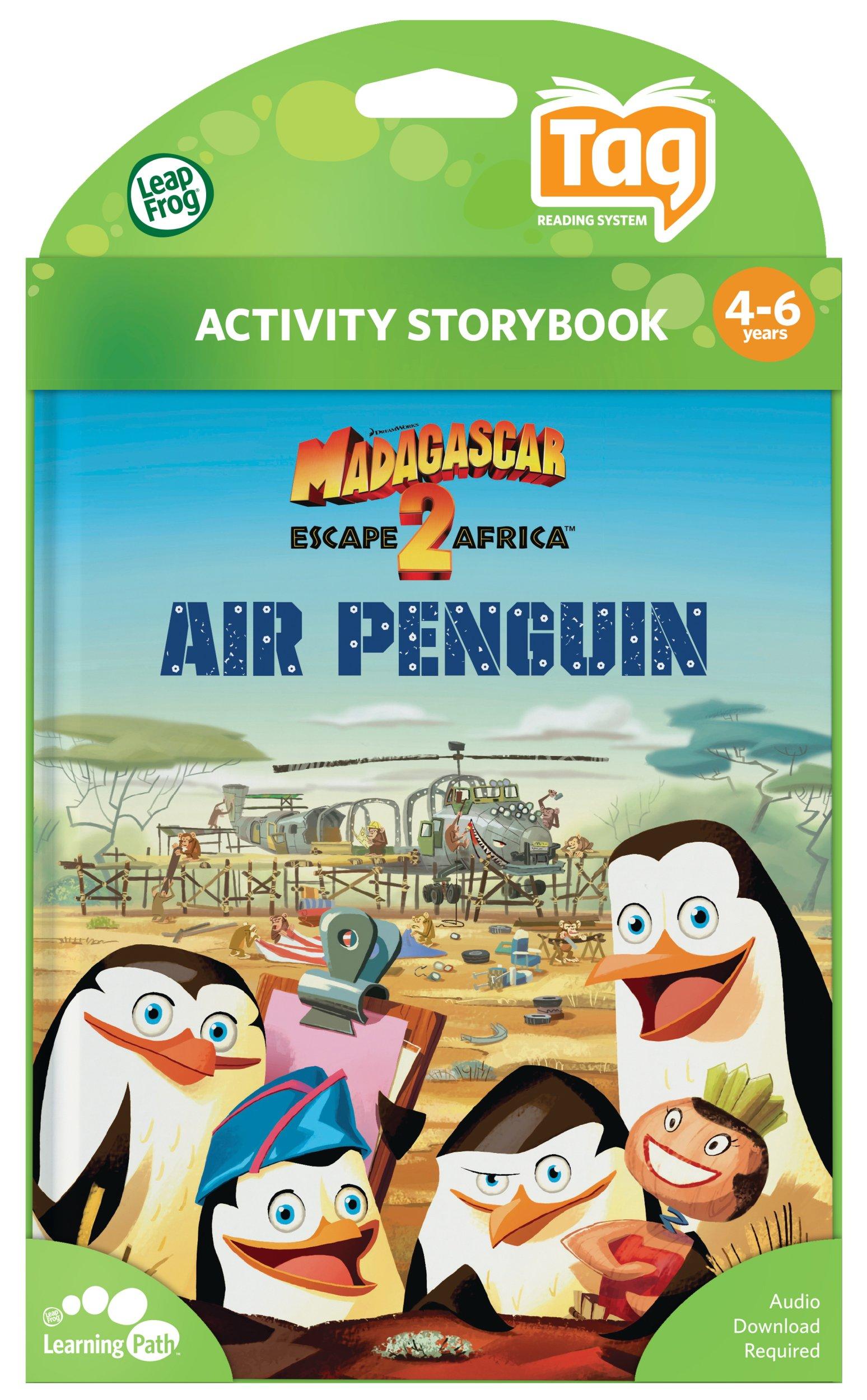 Leapfrog LeapReader & Tag Activity Storybook Madagascar: Escape 2 Africa Air Penguin by LeapFrog (Image #4)
