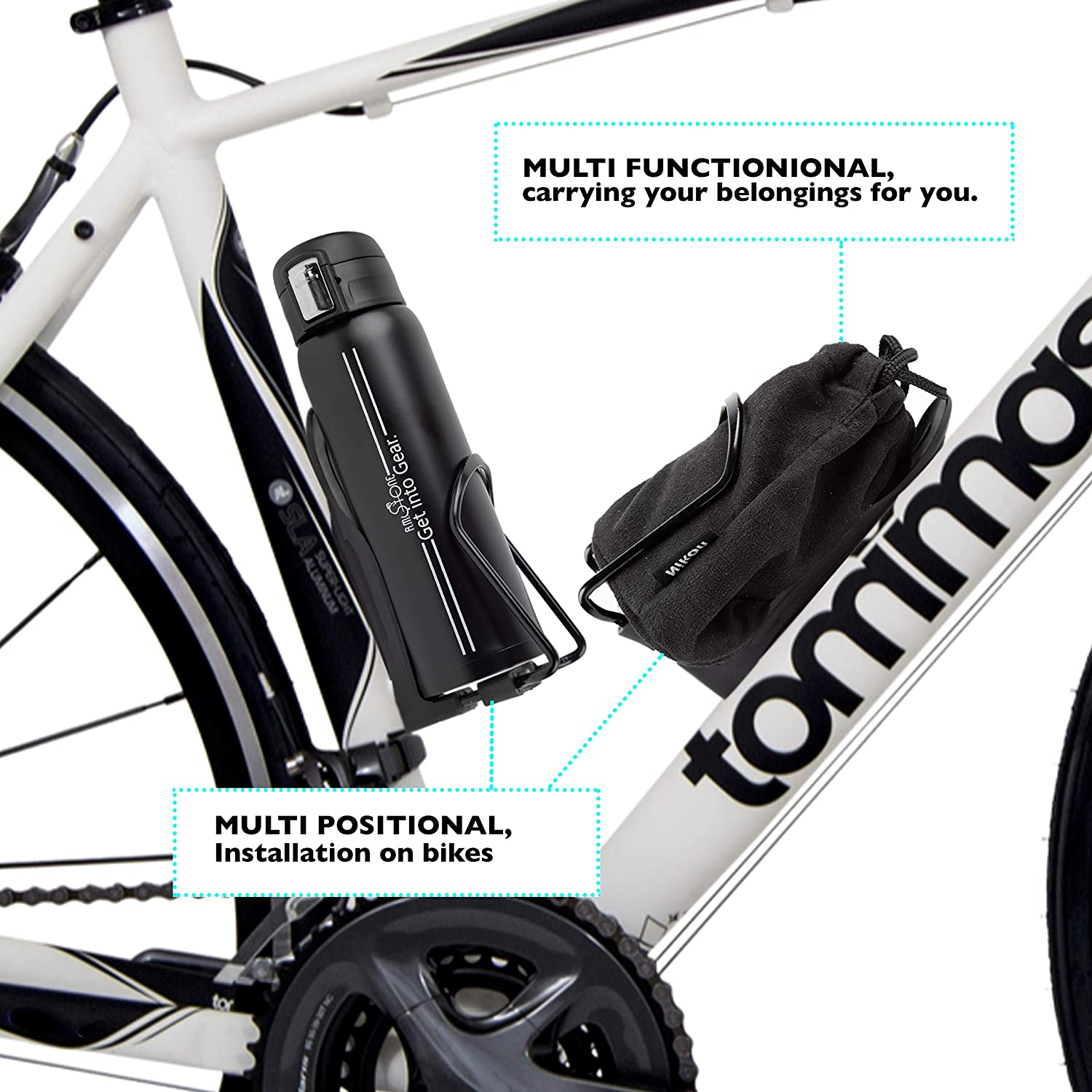 Guee Waterbottle Cage D-Cage
