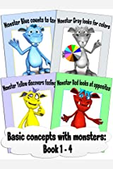 Basic concepts with monsters: Book 1 - 4 Kindle Edition