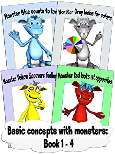 Basic concepts with monsters: Book 1 - 4
