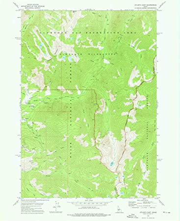 Amazon Com Yellowmaps Atlanta East Id Topo Map 1 24000 Scale 7 5