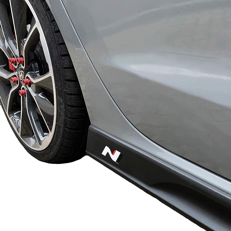 l/ámina de Carbono 751 Oracal//3M PrintAttack P042 Juego de 2 Pegatinas con el Emblema de N-Performance