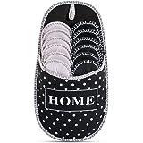 Pantofole degli ospiti a pois in ABS   Set da 6   antiscivolo   scarpe da casa  pantofole di feltro