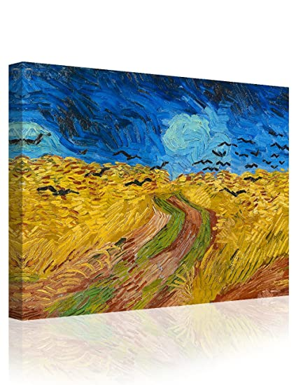 b252a0d6fe335f Image Unavailable. Image not available for. Color  IPIC - Wheat Field with  Crows