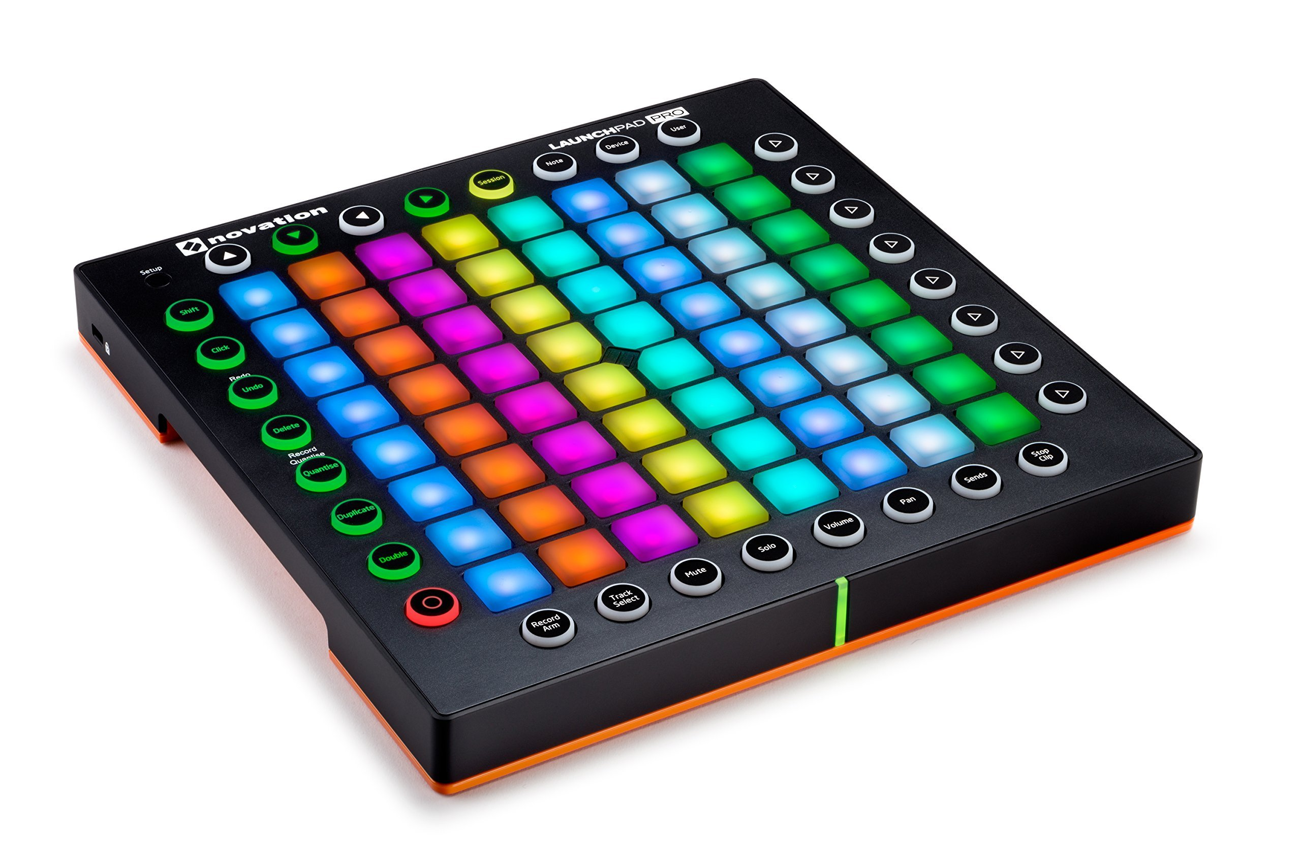 Novation Launchpad Pro Professional 64-Pad Grid Performance Instrument for Ableton with MIDI I/O by Novation