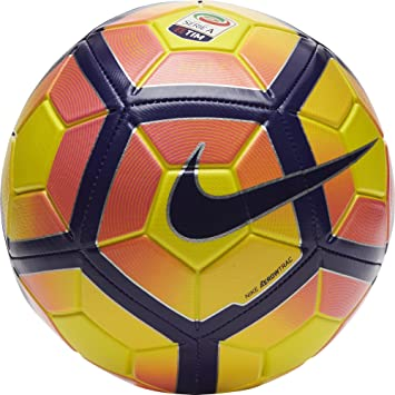 Nike Strike Serie A Balón, Unisex Adulto, Amarillo (Yellow/Purple ...