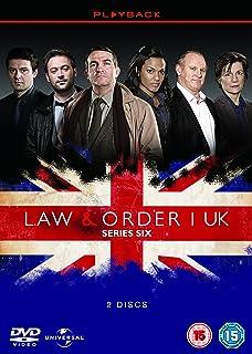 law order uk series 3 dvd amazon co uk bradley walsh jamie