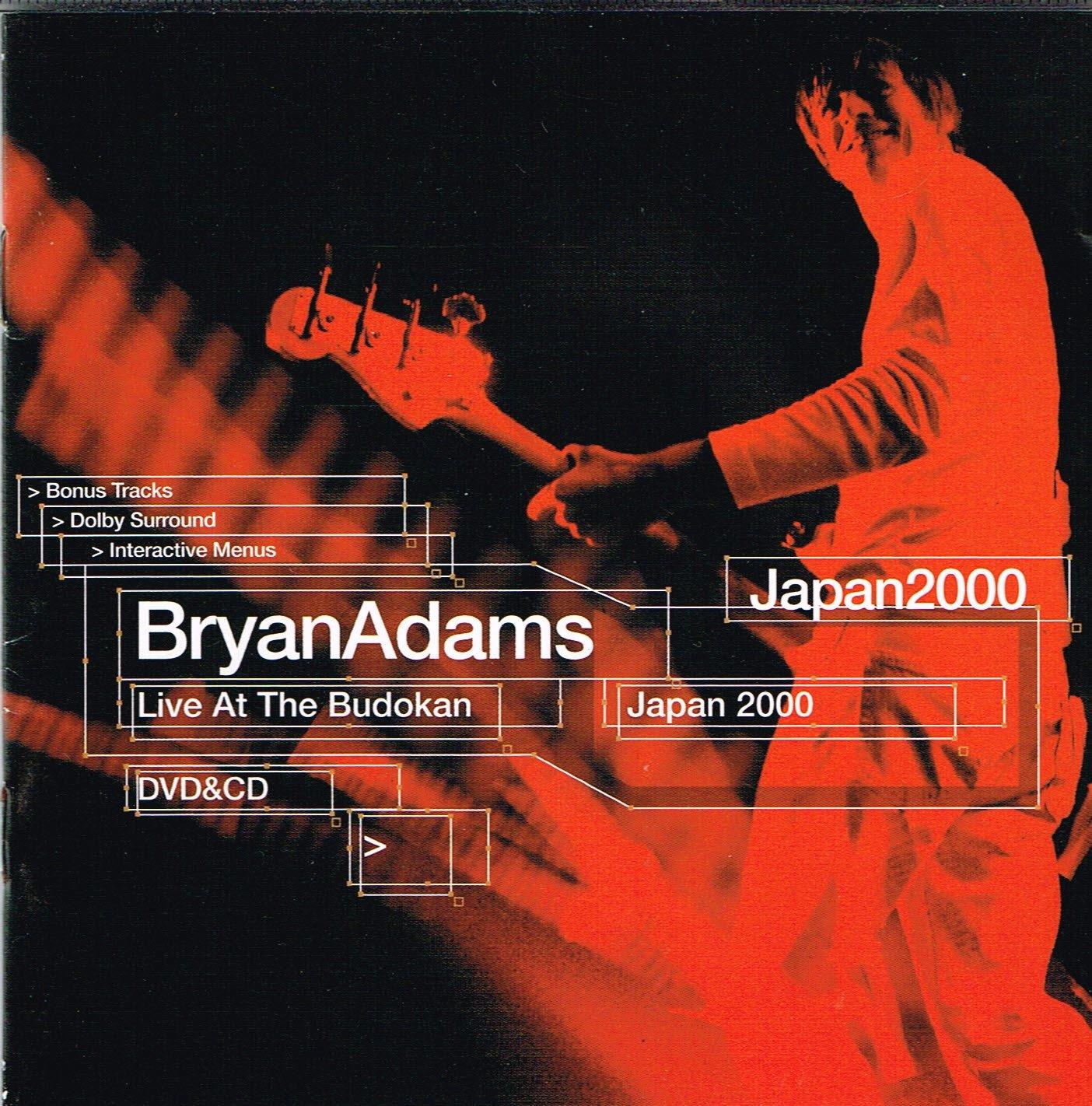 Bryan Adams Live at the Budokan (CD & DVD)