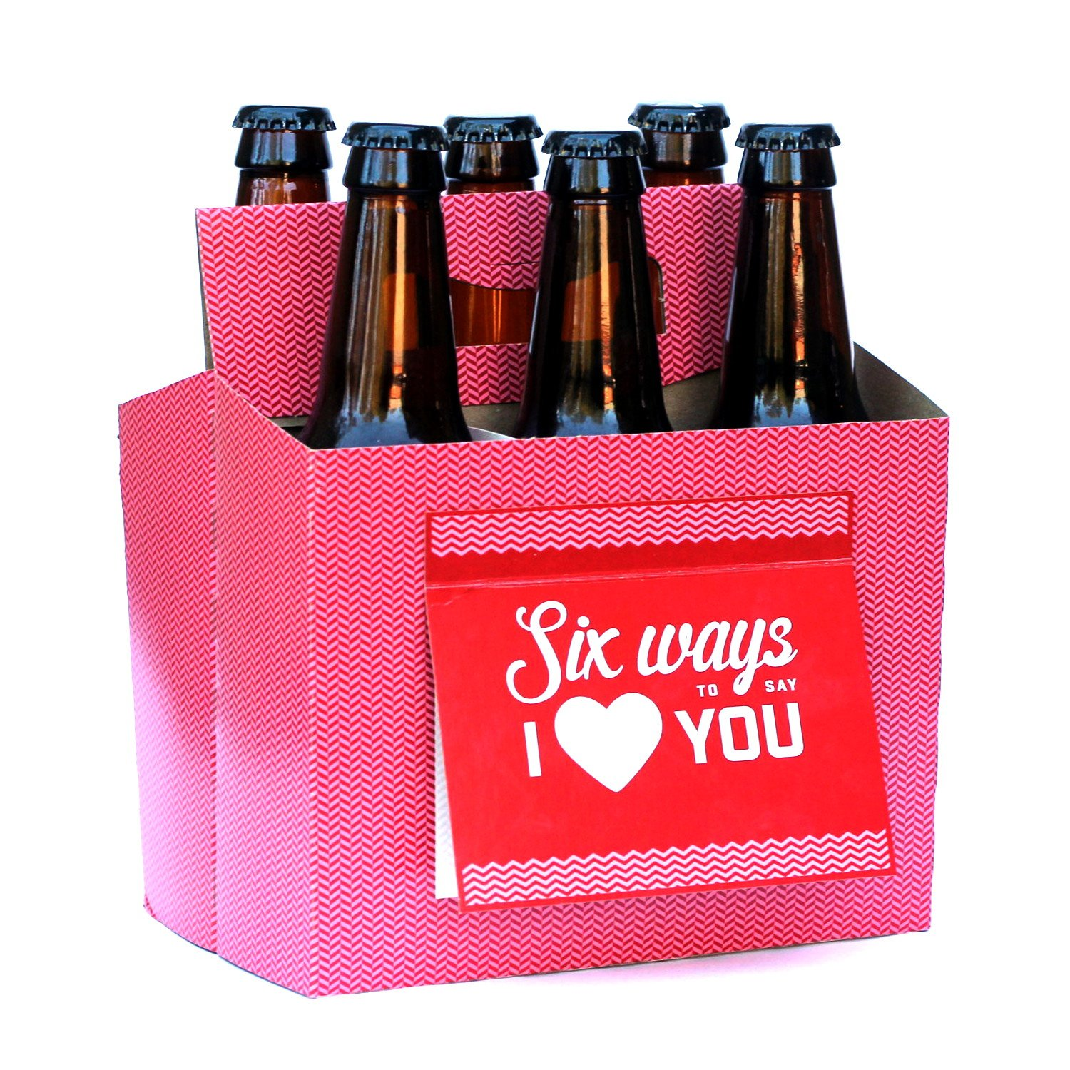 Amazon beer greetings card box mixed pack 4 count health beer valentines day gifts for him or her six pack greeting card box set kristyandbryce Choice Image