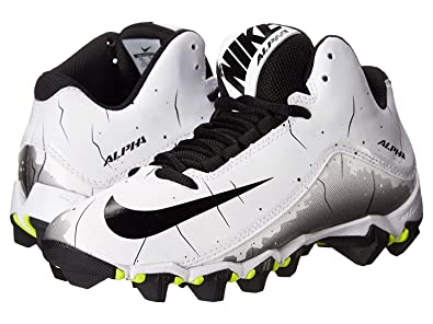696d1886b Image Unavailable. Image not available for. Color  Nike Kids Alpha Shark 2 3  4 Bg Football Cleat ...