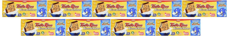 Tosta Rica - Galletas Bizcochitos - 5 Galletas - 125 g - [Pack de 9]: Amazon.es: Alimentación y bebidas