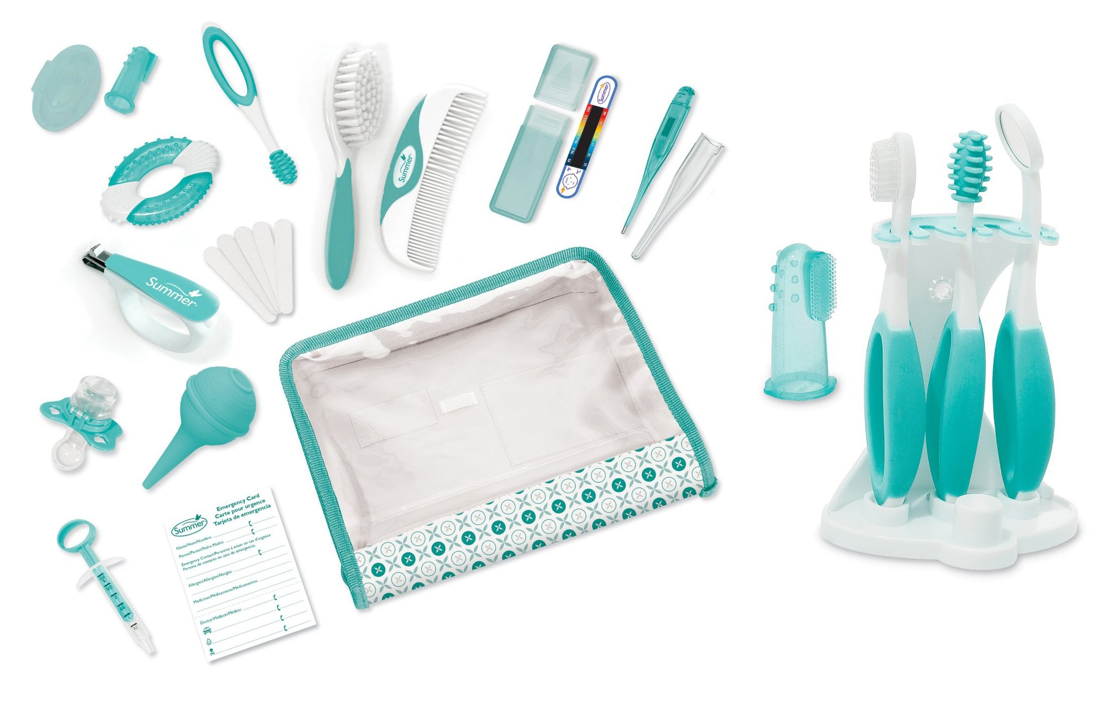 Summer Infant Complete Nursery Care Kit with Oral Care Kit