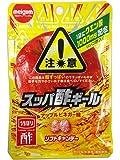 明治チューインガム スッパ酢ギールアップルビネガー 25g×10袋