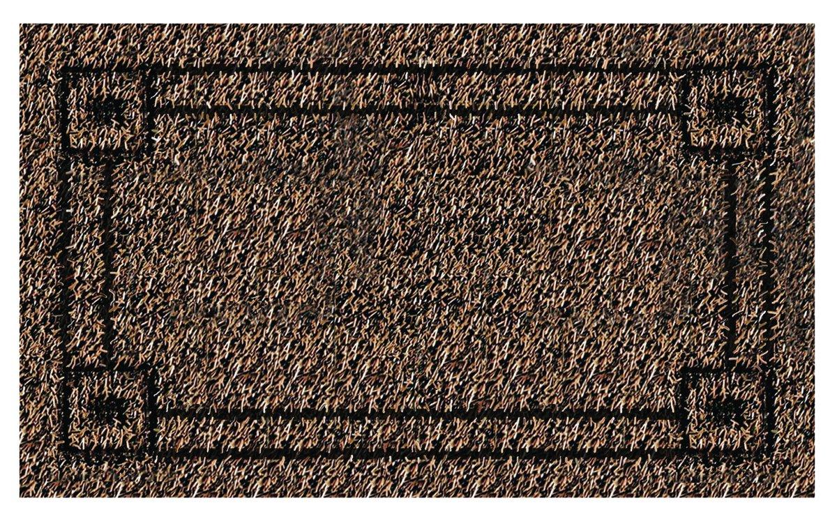 Grassworx Clean Machine Metro Doormat, 18'' x 30'', Black Forest (10371832)
