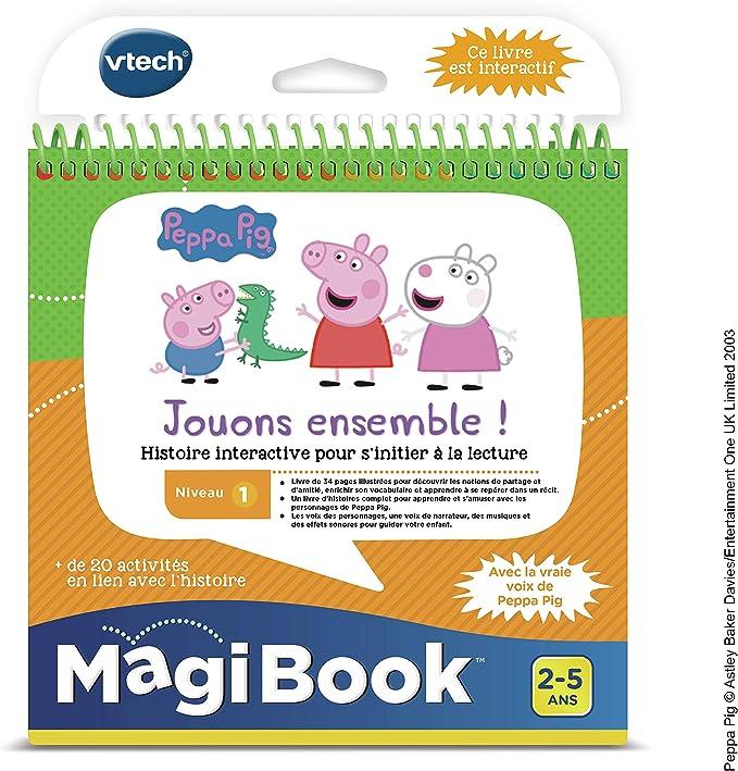 vtech magibook peppa pig 480405 version fr