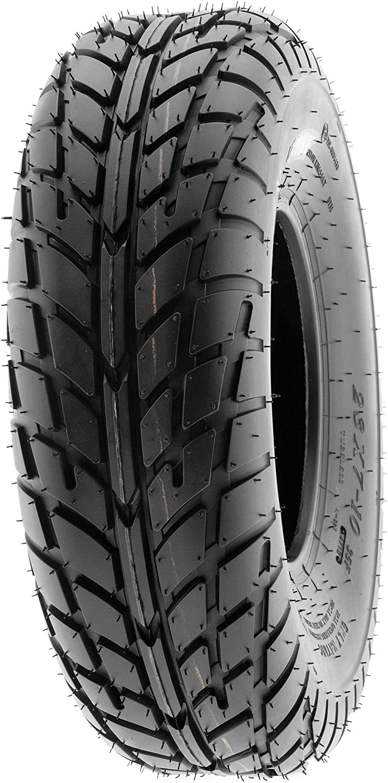 SunF 21x7-10 21x7x10 ATV UTV Sport Race Replacement 6 PR Tubeless Tires A021, Set of 2