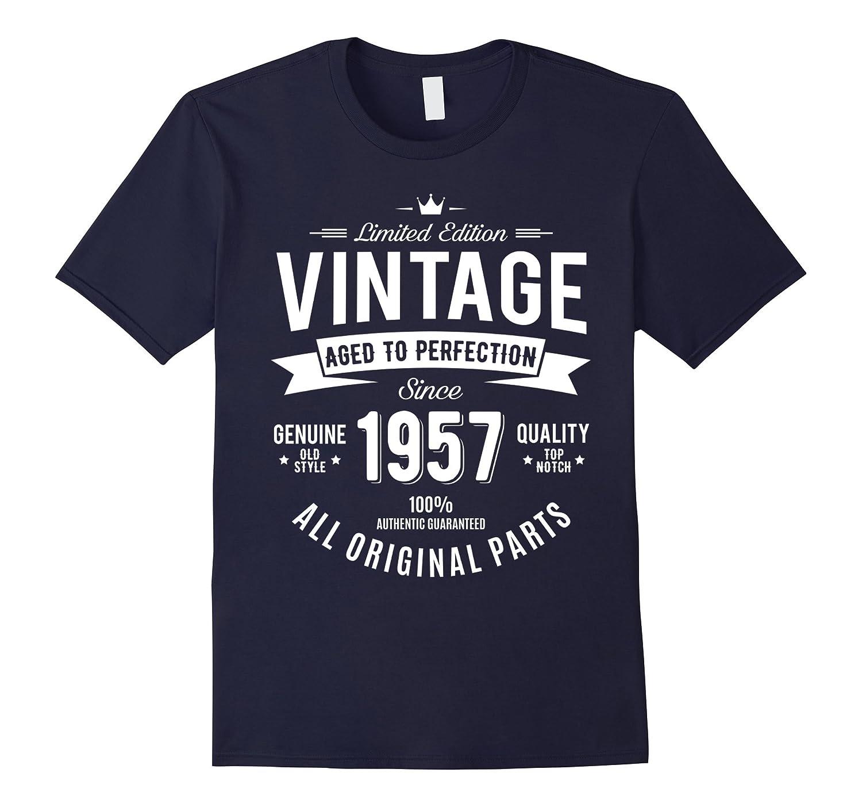 Born In 1957 - Age Of Perfection Funny 60th Birthday Tshirt-FL