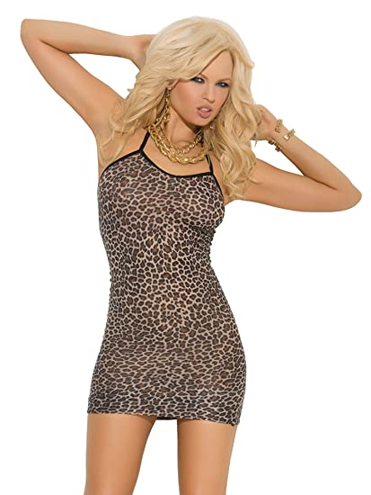 Amazon.com  Elegant Moments Women s Print Halter Style Mini Dress ... efc7c924d