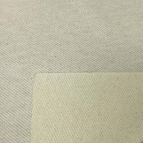 Tela de piqué de algodón orgánico de alta calidad fabricada en Estados Unidos (precio al por mayor por el perno), natural – 50 yardas: Amazon.es: Juguetes y juegos