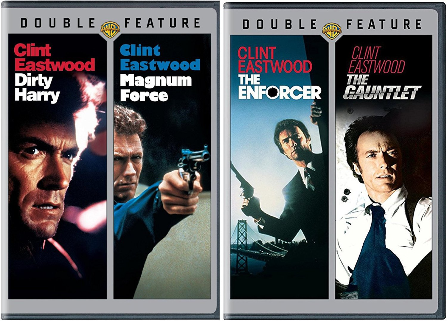 The Dirty Harry 4 Film Collection + The Gauntlet DVD Crime Action ...