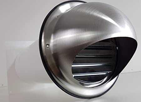 Diseño de la Gran Muralla de caja NW 100 campana extractora telescópica con tubo de retención de tapa de acero inoxidable MKWSKE100: Amazon.es: Hogar