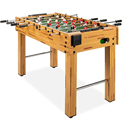 """Foosball Soccer Arcade Table Game Play 48/"""" w// Automatic LED Scoring Accessories"""