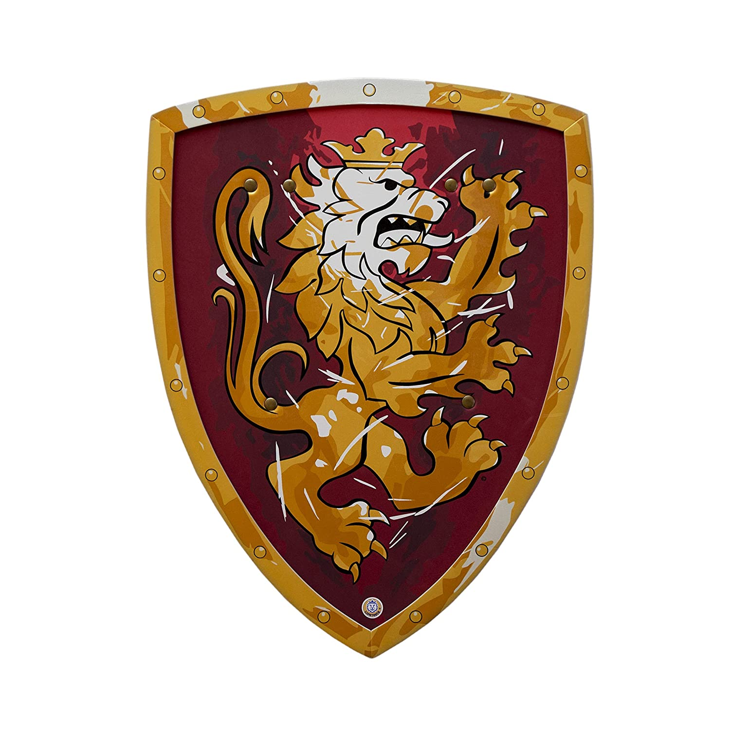 BestSaller Shield Noble Knight, 45x34,5cm red/gold 1756
