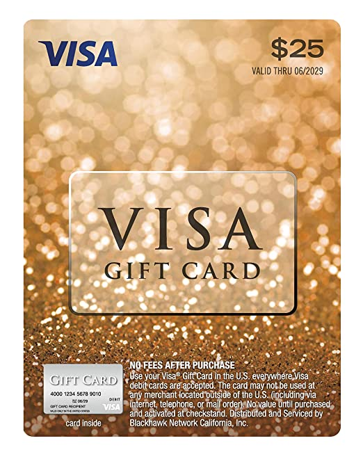 $14 Visa Gift Card (plus $14.14 Purchase Fee)