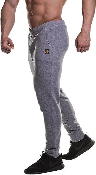 Golds Gym - Pantalones de chándal para Hombre Gris Claro L: Amazon ...