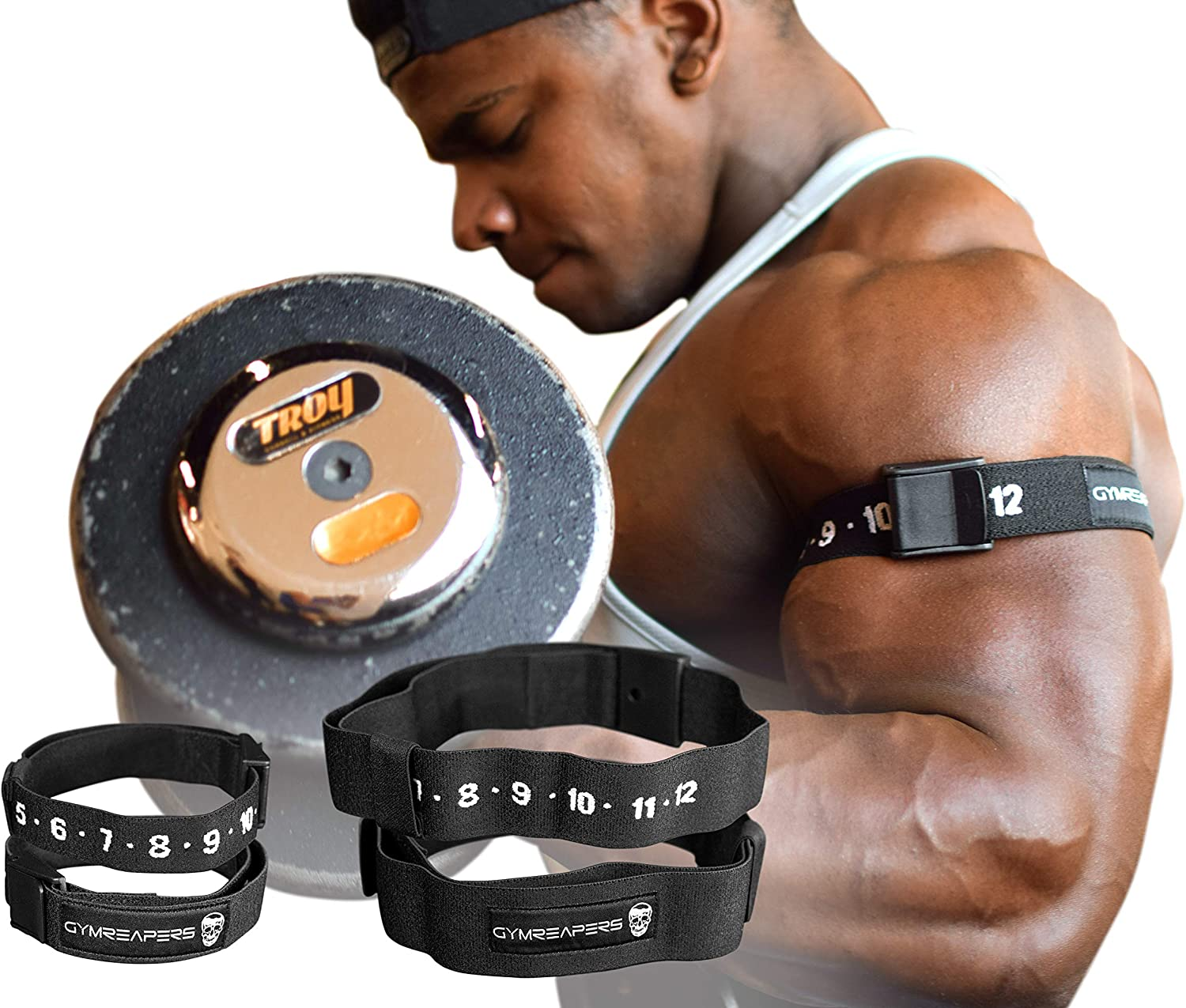 Harlem Training Bands Fitness Arm bands Blood Flow Restriction Occlusion Wraps