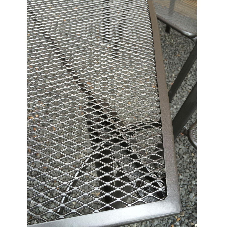 Amazon.de: Metall Sitzgruppe 7tlg. anthrazit Streckmetall