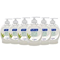 Deals on 6-Pack Softsoap Liquid Hand Soap, Aloe 7.5 fluid ounce