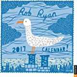 Rob Ryan 2017 Square Wall Calendar