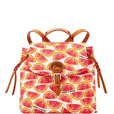 1458f068a3 Image Unavailable. Image not available for. Color  Dooney   Bourke Nylon  Flap Backpack ...