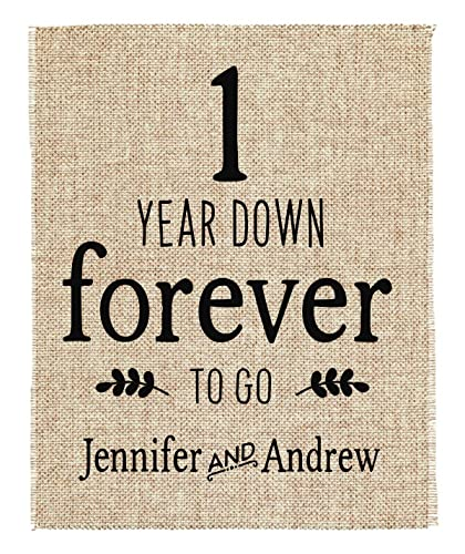Image Unavailable. Image not available for. Color One Year Anniversary Gift ...  sc 1 st  Amazon.com & Amazon.com: One Year Anniversary Gift | 1st Wedding Anniversary Gift ...